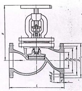 Вентиль KV45-150